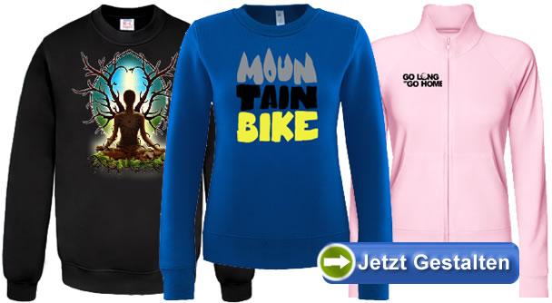 premium selection 14daa 58624 Sweatshirt selbst gestalten - Sweats bedrucken