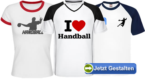 handball t shirt selbst gestalten. Black Bedroom Furniture Sets. Home Design Ideas