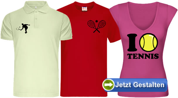 tennis t shirt selbst gestalten und bedrucken lassen. Black Bedroom Furniture Sets. Home Design Ideas