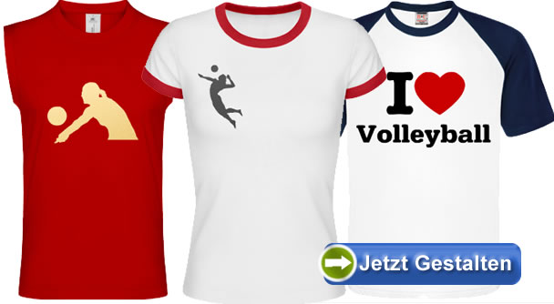 volleyball t shirt selbst gestalten. Black Bedroom Furniture Sets. Home Design Ideas